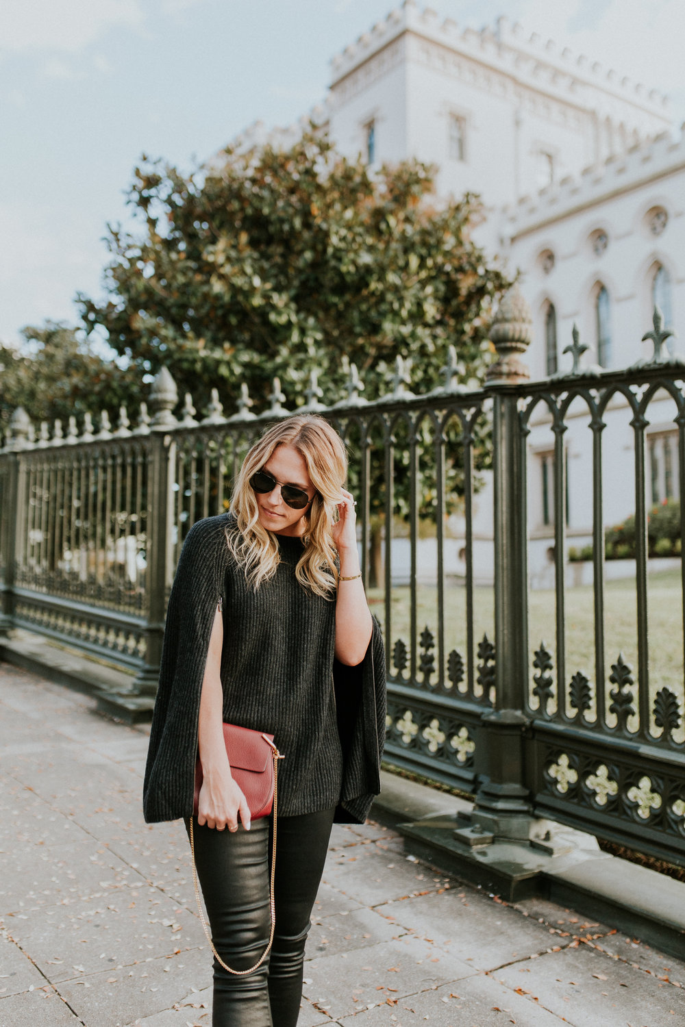 Blogger Gracefully Taylored in Autumn Cashmere Cape and Dee Keller Shoes(4).jpg