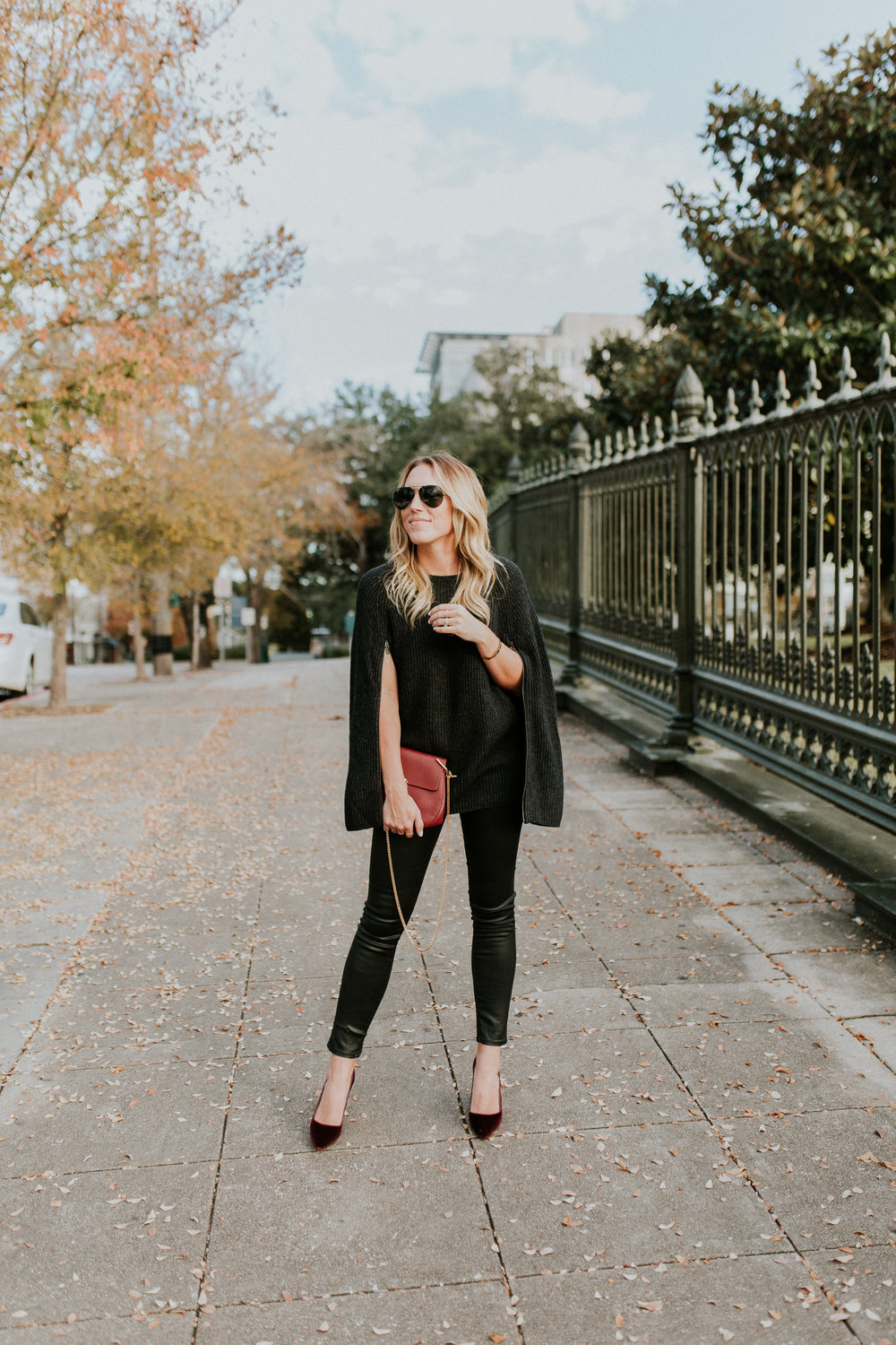 Blogger Gracefully Taylored in Autumn Cashmere Cape and Dee Keller Shoes(9).jpg