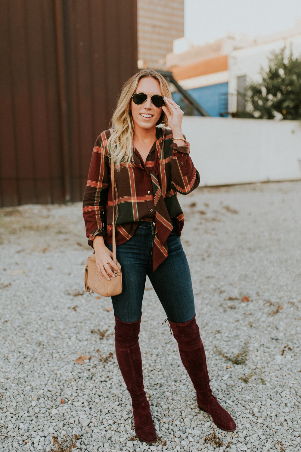 Blogger Gracefully Taylored in Madewell Shirt and Stuart Weitzman Boots(9).jpg