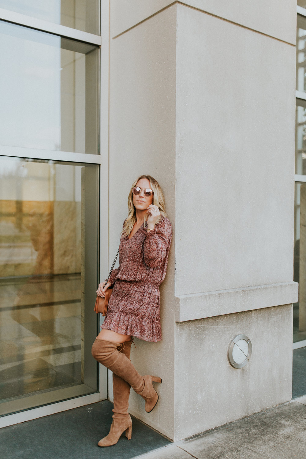 Blogger Gracefully Taylored in Joie Dress and Stuart Weitzman Boots(21).jpg
