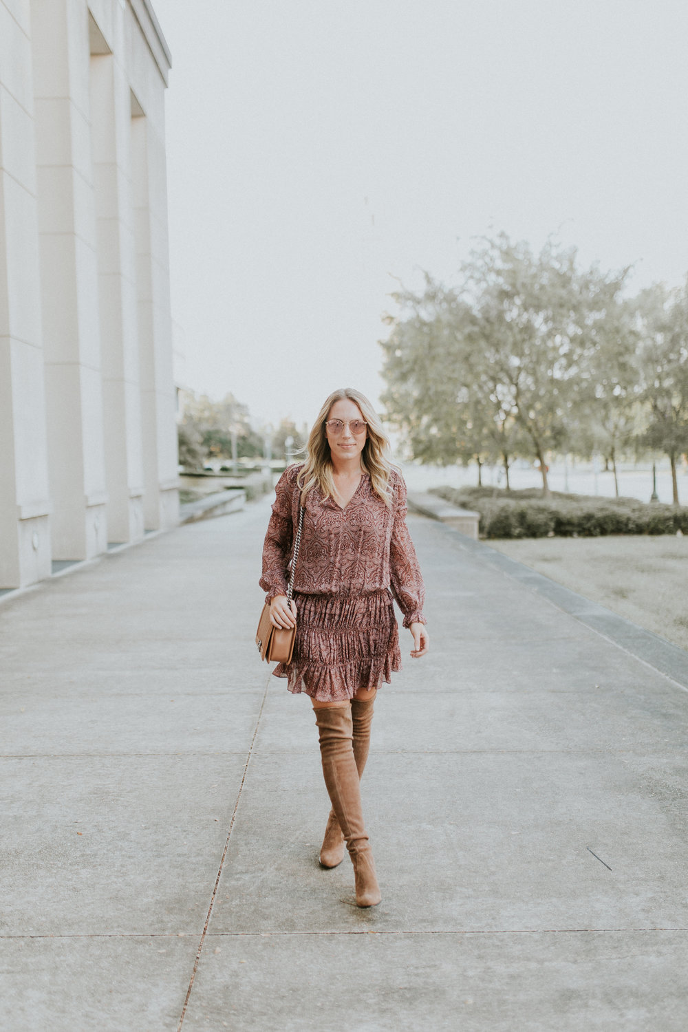 Blogger Gracefully Taylored in Joie Dress and Stuart Weitzman Boots17).jpg