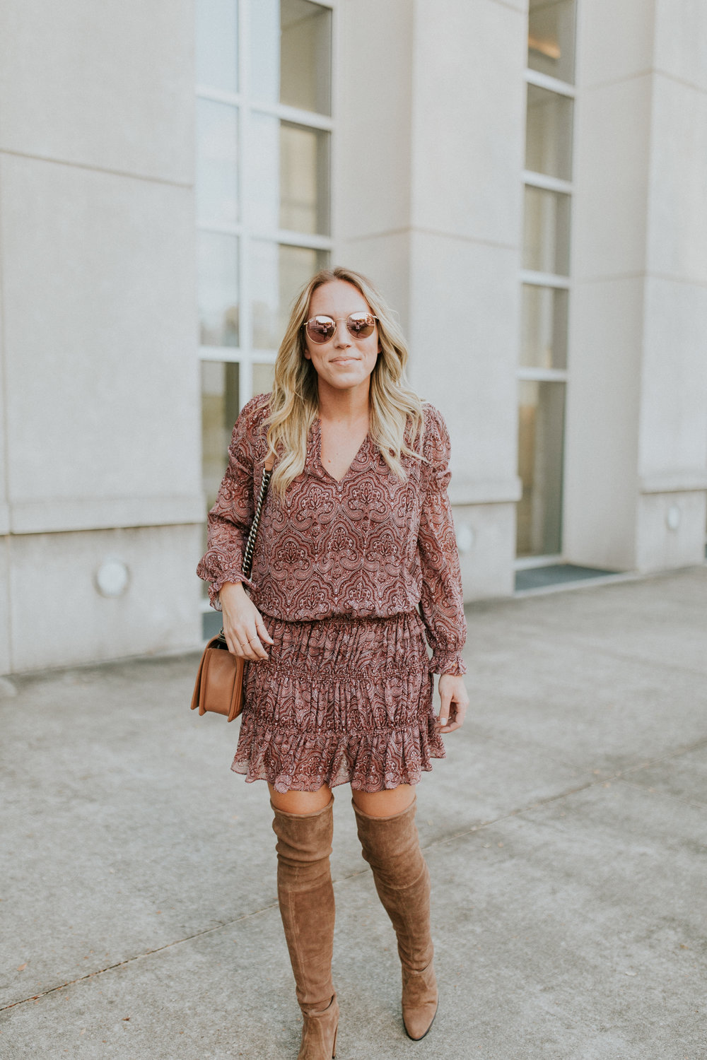 Blogger Gracefully Taylored in Joie Dress and Stuart Weitzman Boots(3).jpg