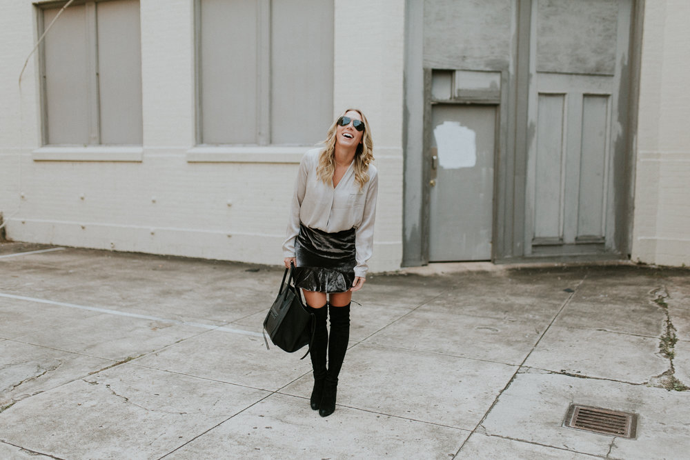 Blogger Gracefully Taylored in Madewell Skirt and Stuart Weitzman Boots(2).jpg