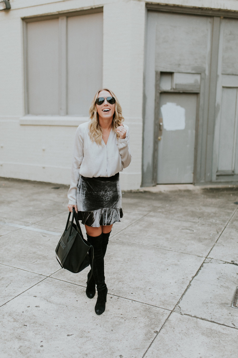 Blogger Gracefully Taylored in Madewell Skirt and Stuart Weitzman Boots.jpg