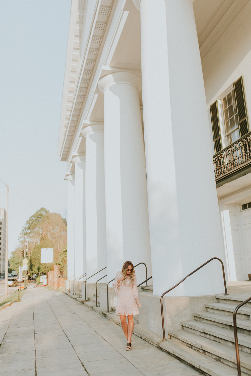 Blogger Gracefully Taylored in Blush Lace Dress Nordstrom(20).jpg