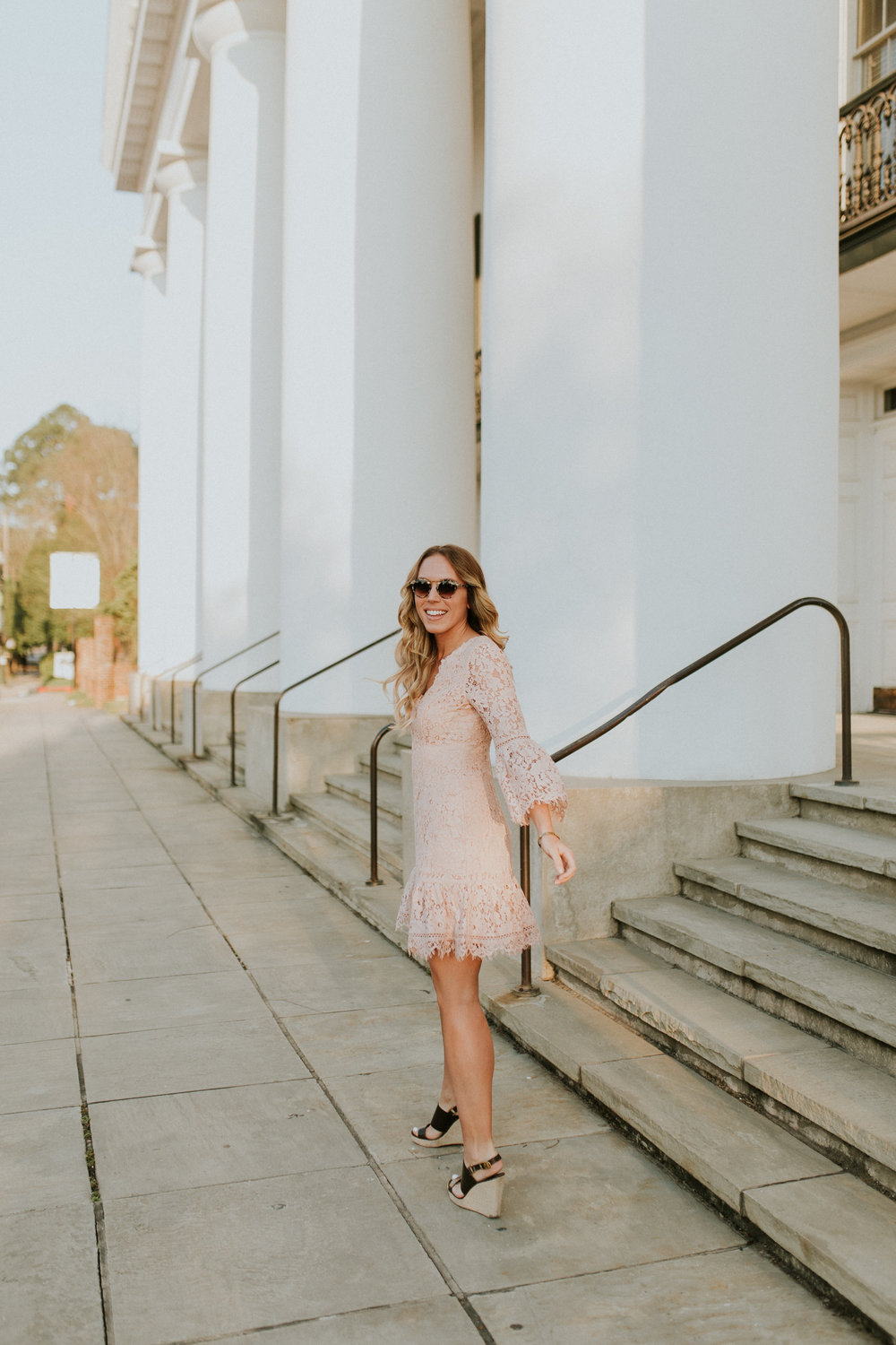 Blogger Gracefully Taylored in Blush Lace Dress Nordstrom(15).jpg