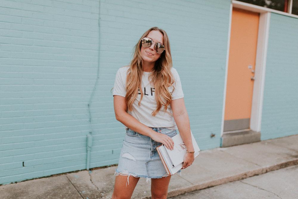 Blogger Gracefully Taylored in Levis Denim Skirt School(6).jpg