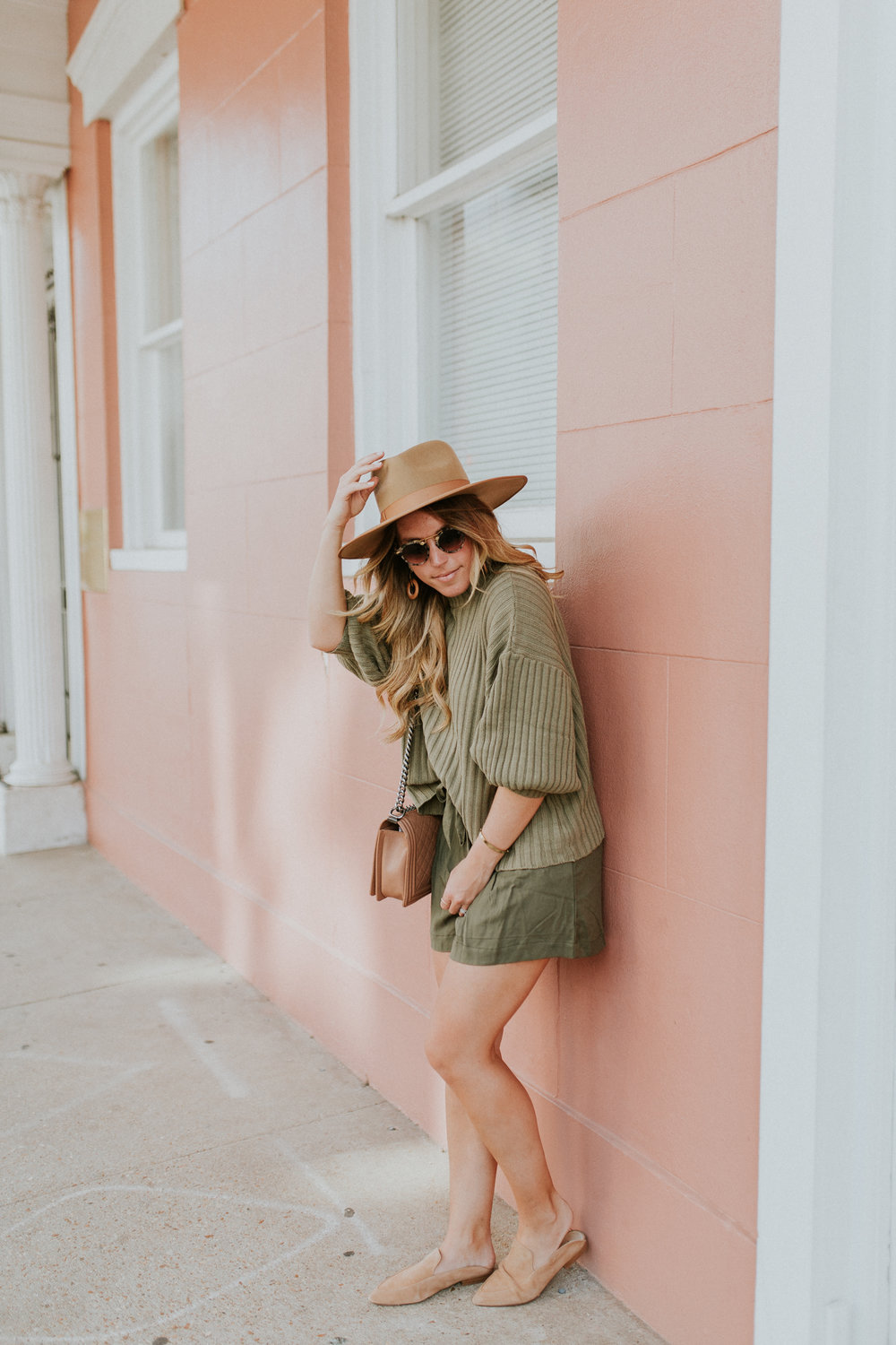 Blogger Gracefully Taylored in Urban Outfitters Sweater and BB Dakota Shorts(20).jpg