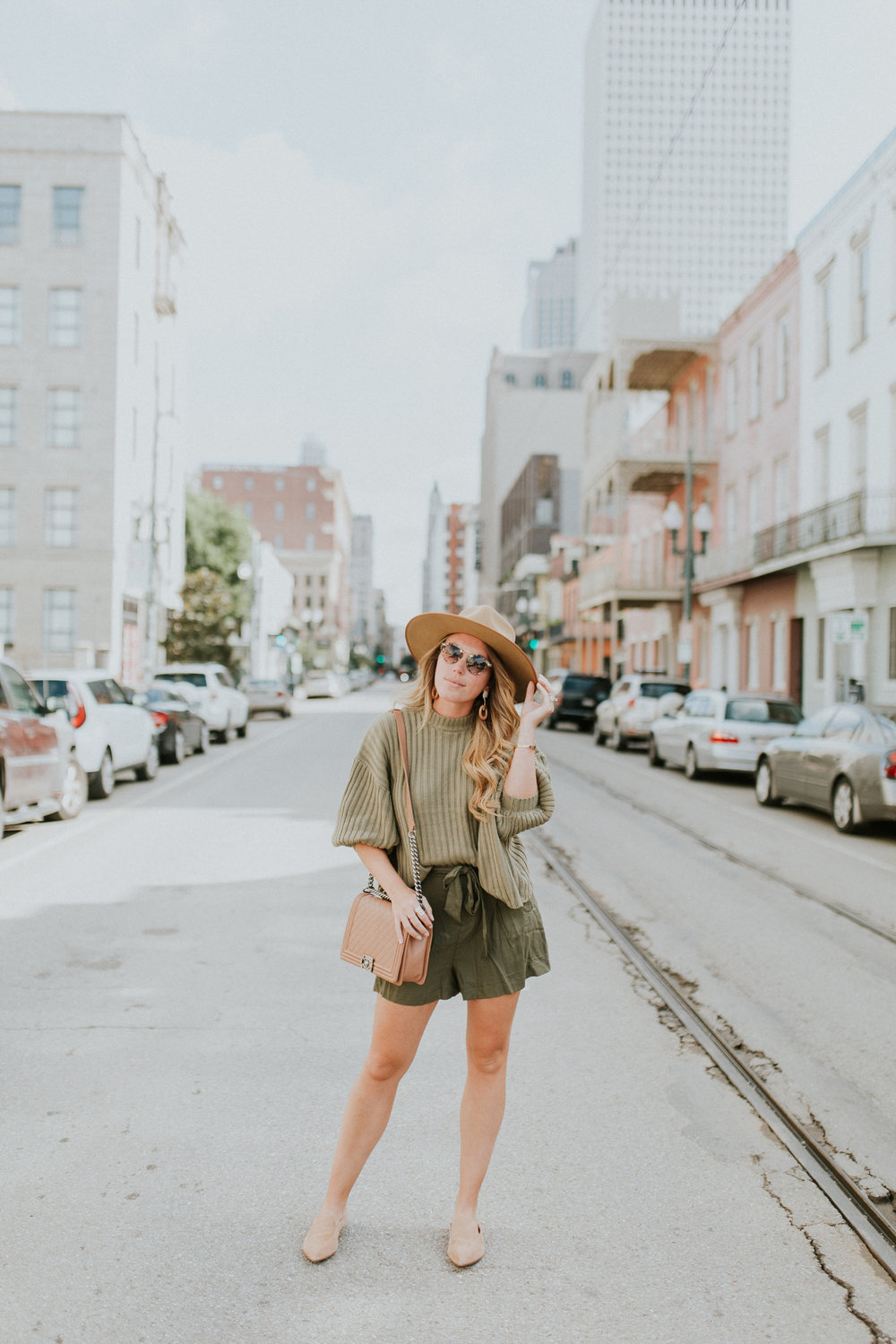 Blogger Gracefully Taylored in Urban Outfitters Sweater and BB Dakota Shorts(2).jpg