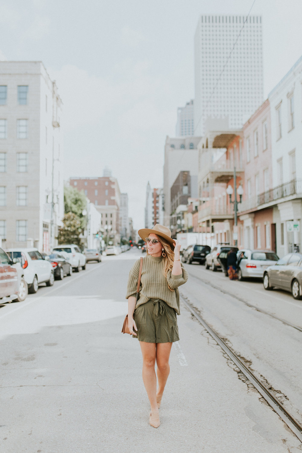 Blogger Gracefully Taylored in Urban Outfitters Sweater and BB Dakota Shorts.jpg