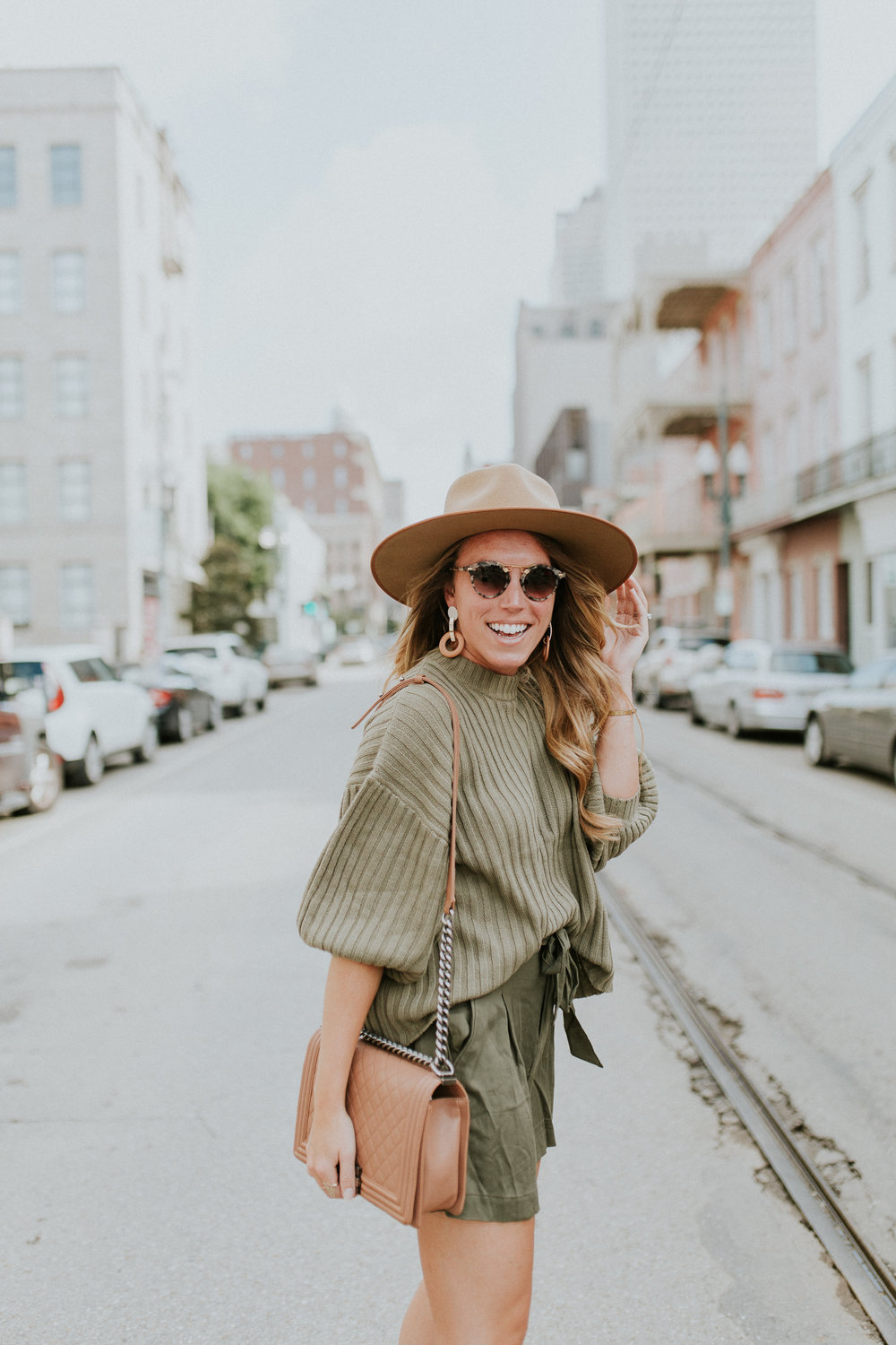 Blogger Gracefully Taylored in Urban Outfitters Sweater and BB Dakota Shorts(6).jpg