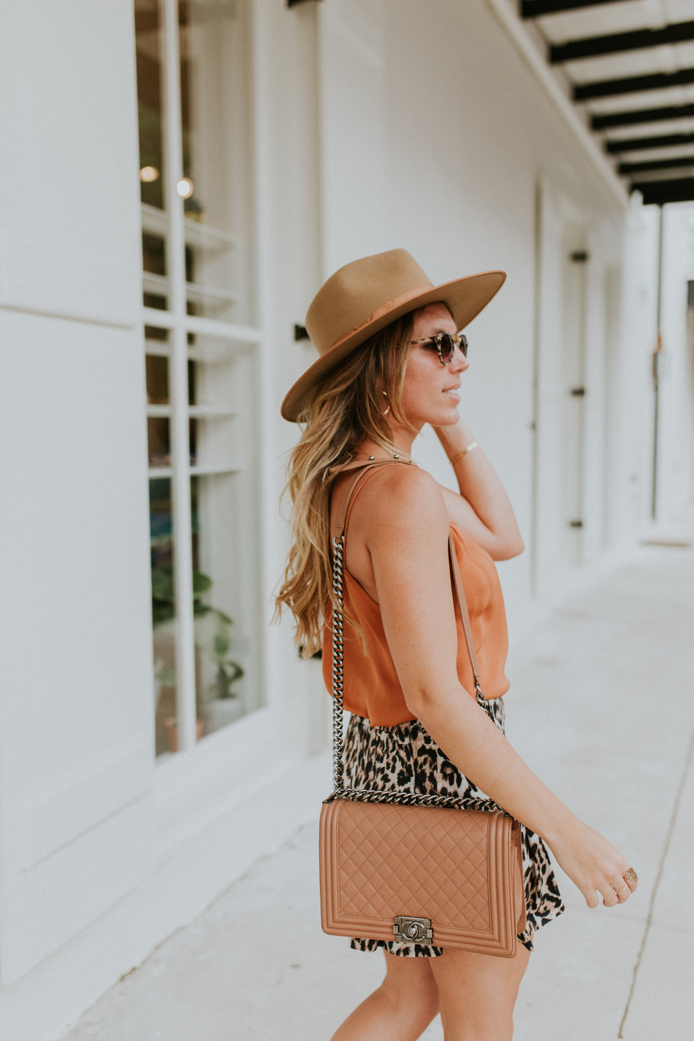 Blogger Gracefully Taylored in Leopard Shorts(3).jpg