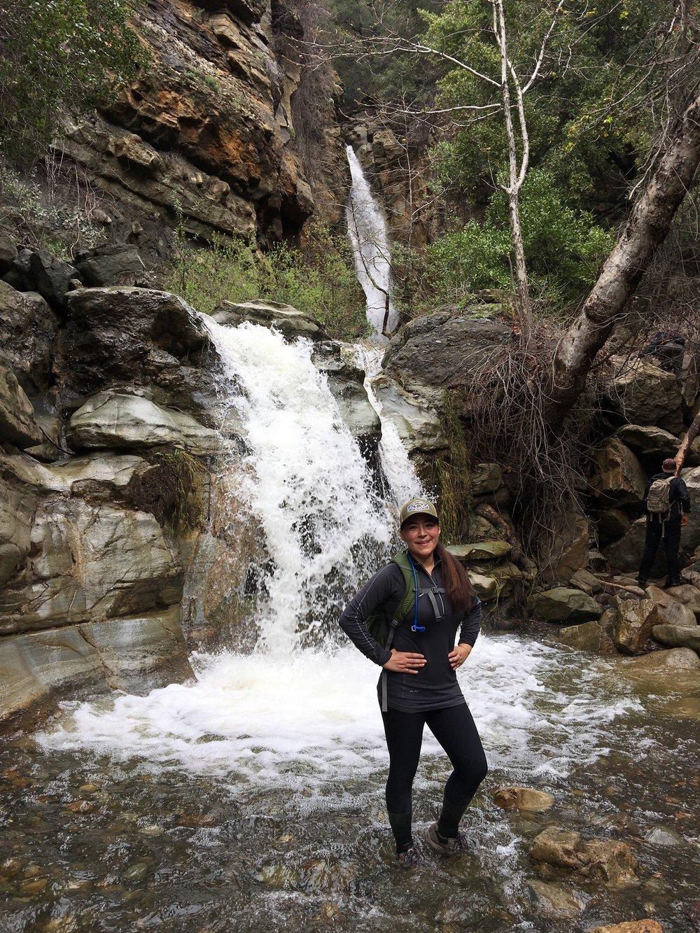 Black Star Canyon Falls, CA