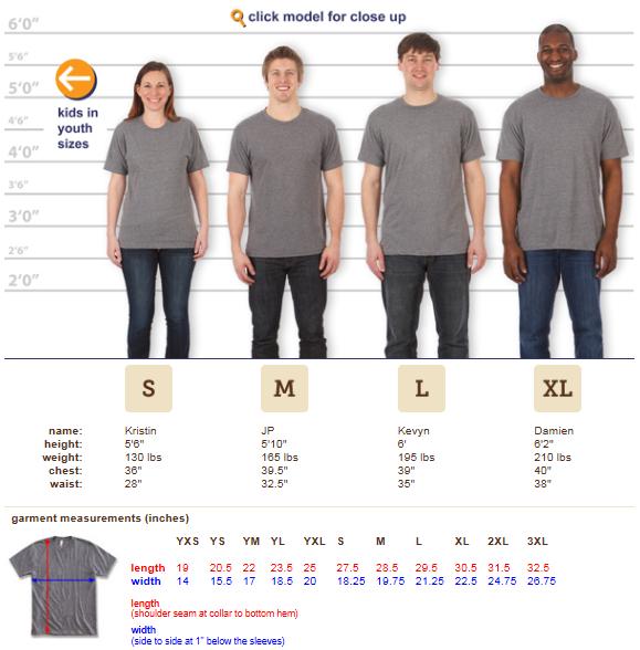 Sizing - Next Level T-Shirt.PNG
