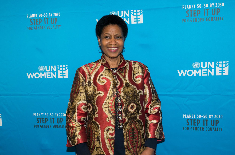 Keynote speaker Dr. Phumzile Mlambo-Ngcuka. Photo: Ben Hider