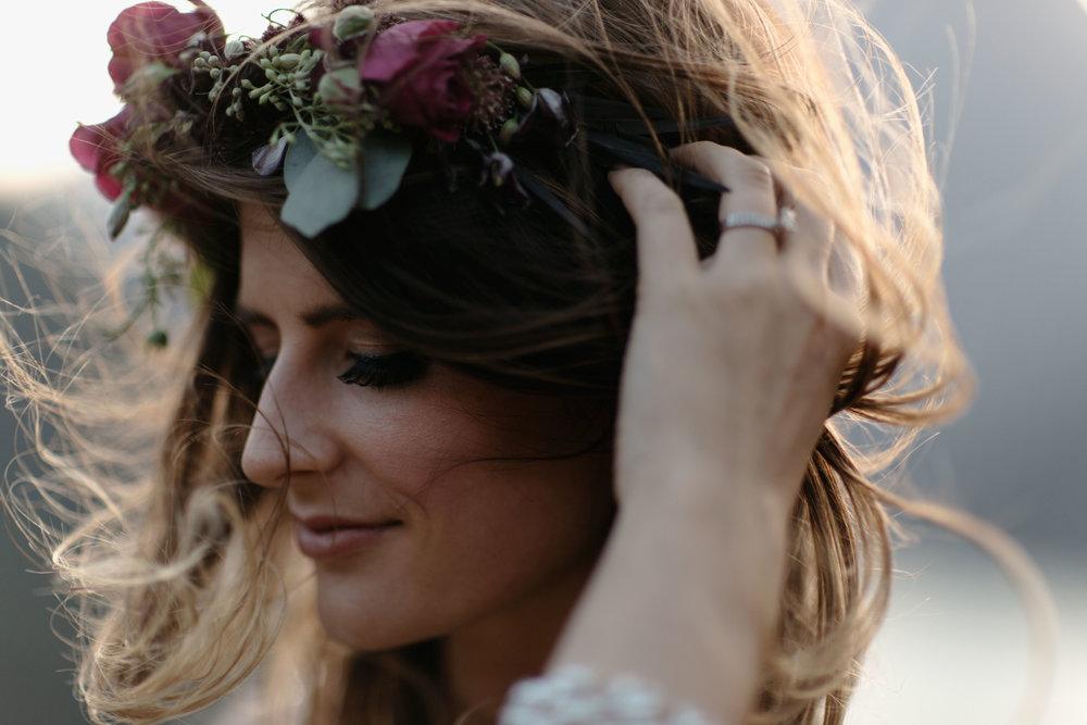 PNW bridal hair and makeup inspiration