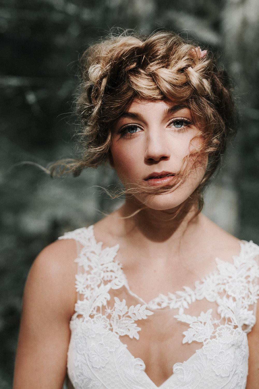 Bellingham bridal hair stylist, makeup artist, Lairmont Manor