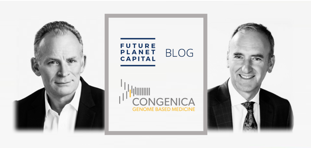 Congenica's new CEO, Dr David Atkins and Chief Scientific Officer, Nick Lench.