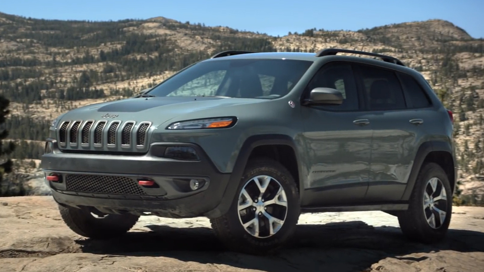 Jeep Cherokee Trailhawk Launch
