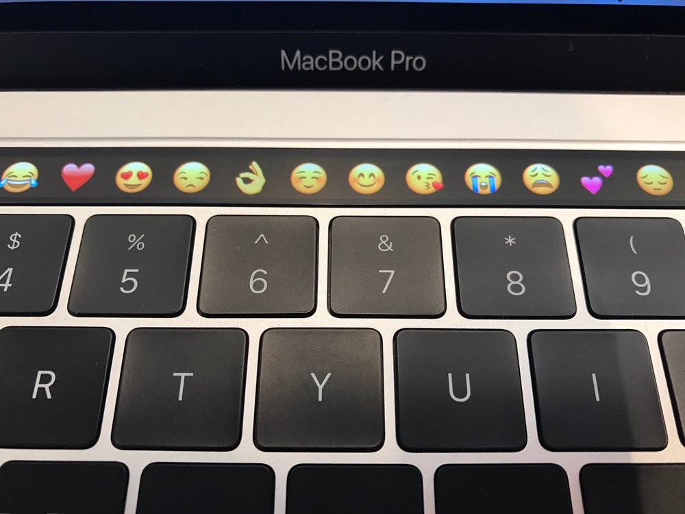 The Touch Bar model that I did not purchase