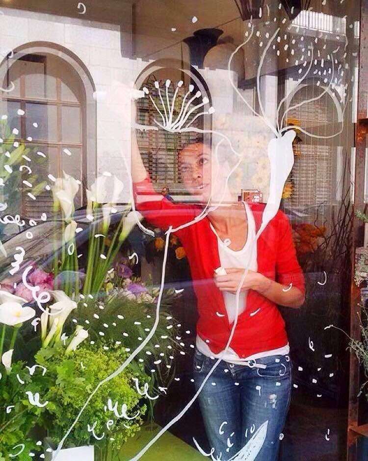 Aiellopini wip window display drawing