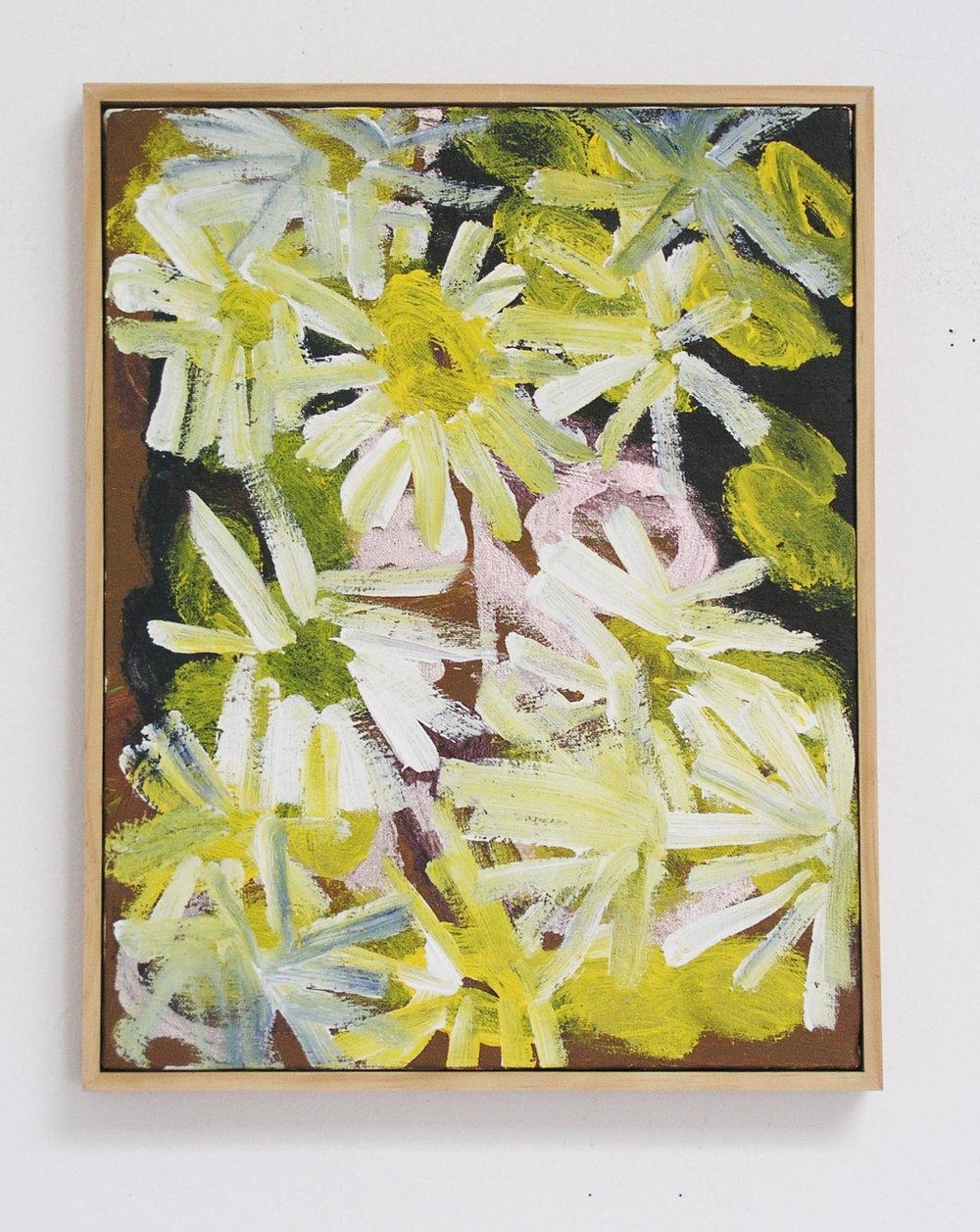 Noah Erenberg, %22Daisies%22, Acrylic on canvas, 14.5x11.5in..jpg