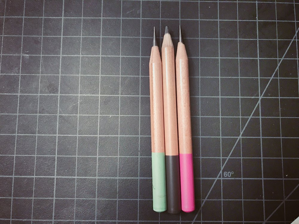 Target Mini Pencils - Classroom Friendly vs. Pre-Sharpened