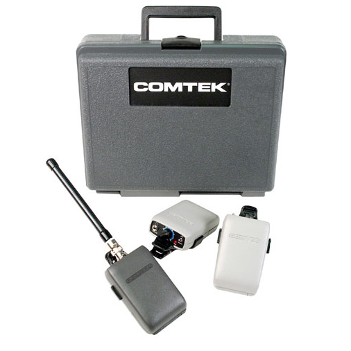 Monitoring - COMTEK - Great range and dependable monitoring for client, director, and/or script supervisor.
