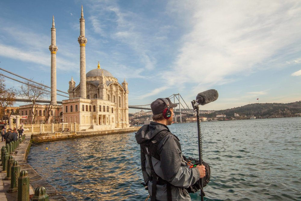 Working abroad in Istanbul, Turkey. photo by  Meg Lamon