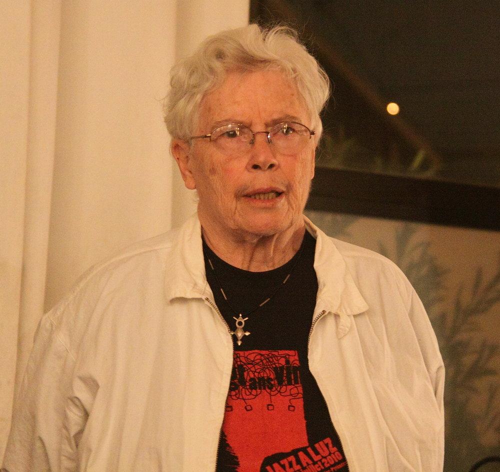 Composer Pauline Oliveros 1932 - 2016  http://paulineoliveros.us