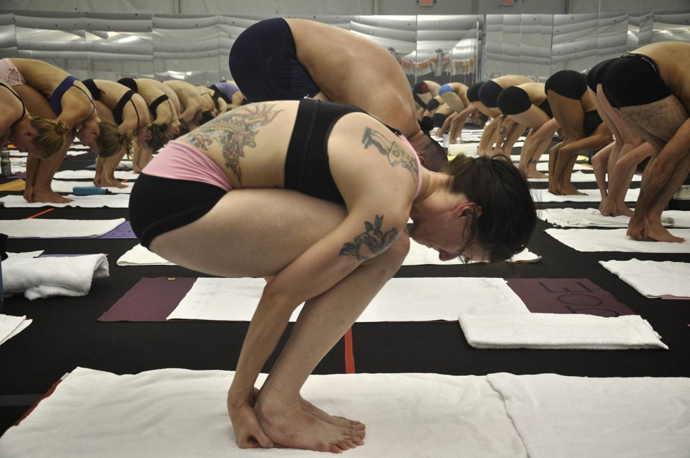 Bikram Yoga teacher training in Las Vegas 2010.