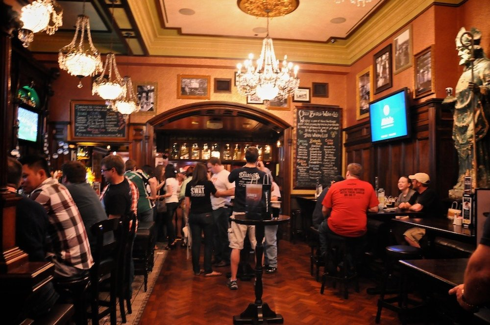 Ri Ra Irish Pub inside Mandalay Place.