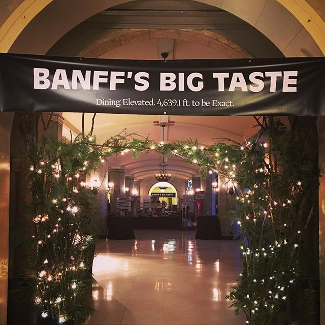 The chefs are starting to cook and the Grand Tasting Hall smells incredible. See you soon, Banff. #banffsbigtaste