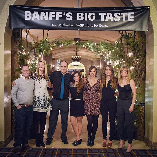 Thank you to everyone who supported Banff's Big Taste 2017! It was a delicious success, looking forward to 2018, stay tuned! - from the Production Team at Banff Hospitality Collective.
