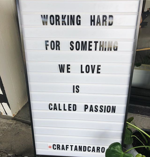 Truth! 🙌🏼 a little Tuesday inspiration from our friends at @craftandcaro.