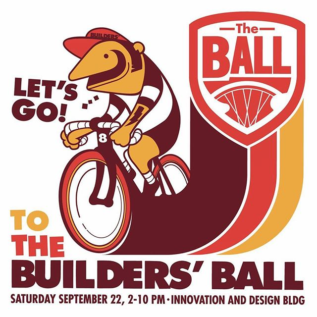 THIS SATURDAY catch us at New England's only annual bike expo at the @idbldg (19 Drydock Ave)! The @buildersball is an exhibition of handbuilt bikes, accessories, art + more. Independent bicycle framebuilders from around the northeastern US are descending on Boston for the show, we hope to see you there! 🥗🥙🥑🚴‍♂️