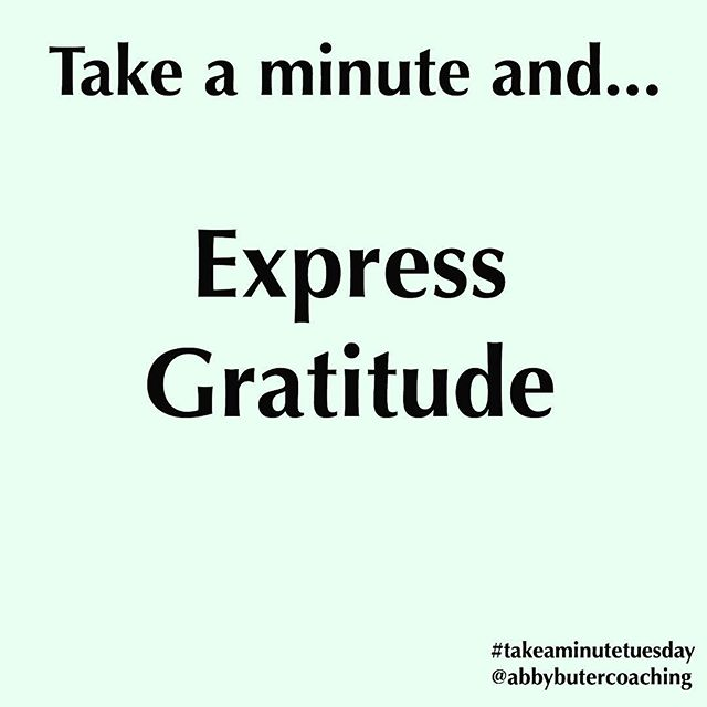 I know I've mentioned this before, but I can't talk enough about how important it is to express gratitude. . Building this habit has been one of the most life changing practices I've engaged with. . What can you express gratitude for today? . Here's somewhere to start: You are breathing and alive. That is a miracle. . Get in the habit of regularly expressing gratitude - it'll change your life. . #gratitude #thingsthatchangeyourlife #selfcare #takeaminutetuesday