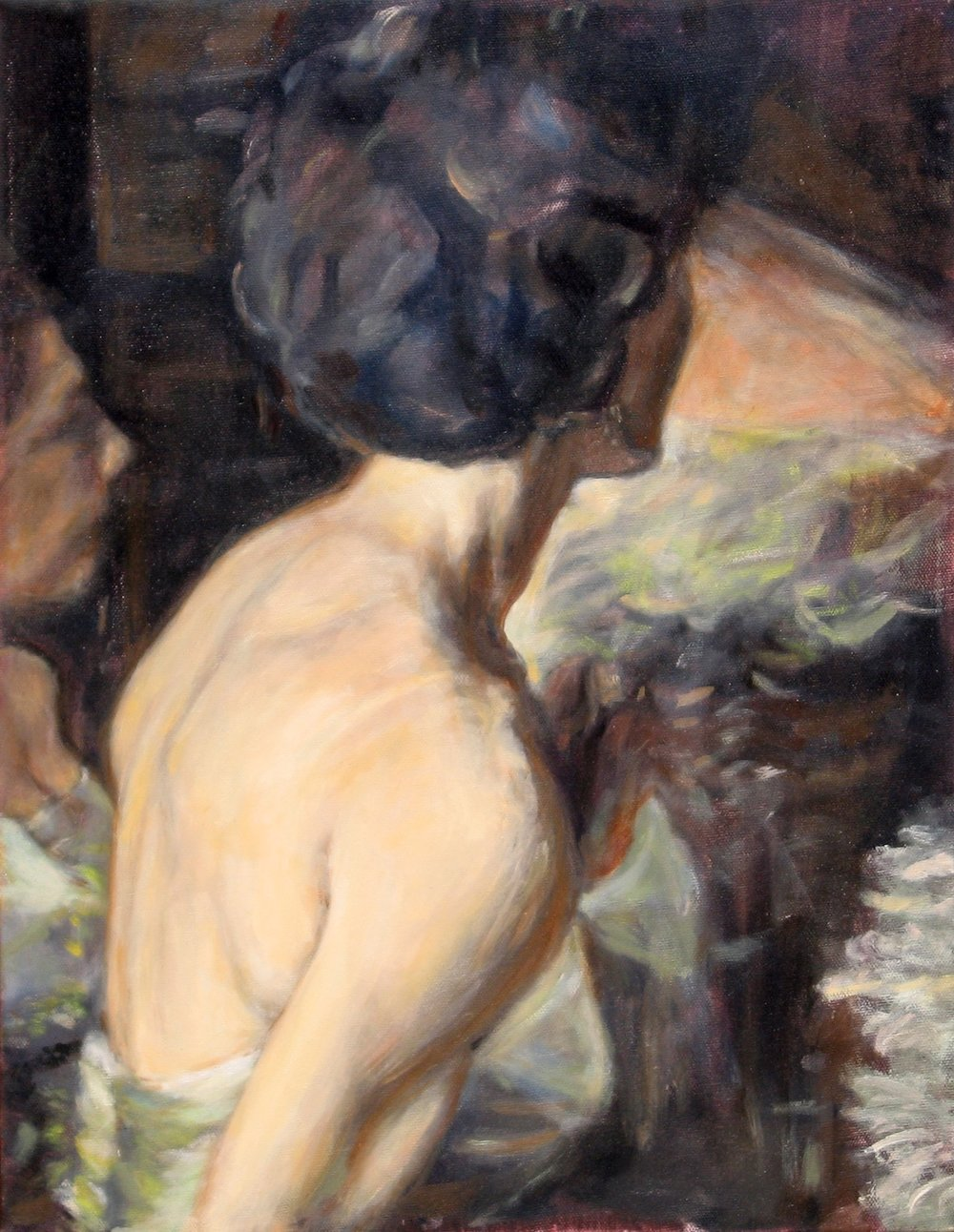 bridesmaid_oil on canvas_18x14''.jpg