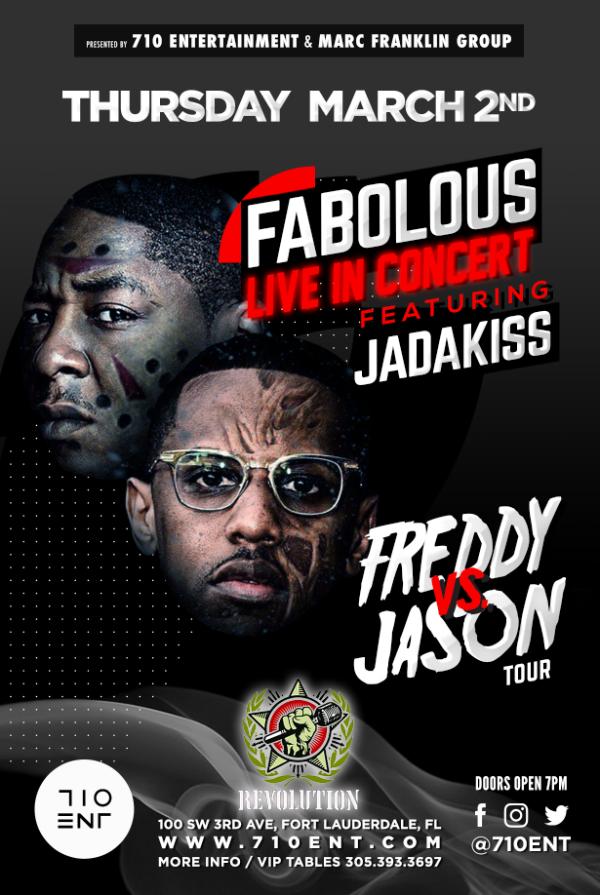 Fabolous live in concert revolution live