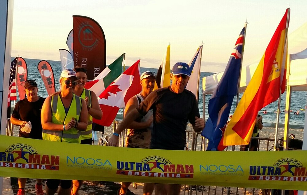 Ultraman Finish 2016