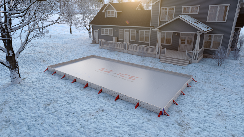 EZ ICE, Your All Inclusive Backyard Rink Kit