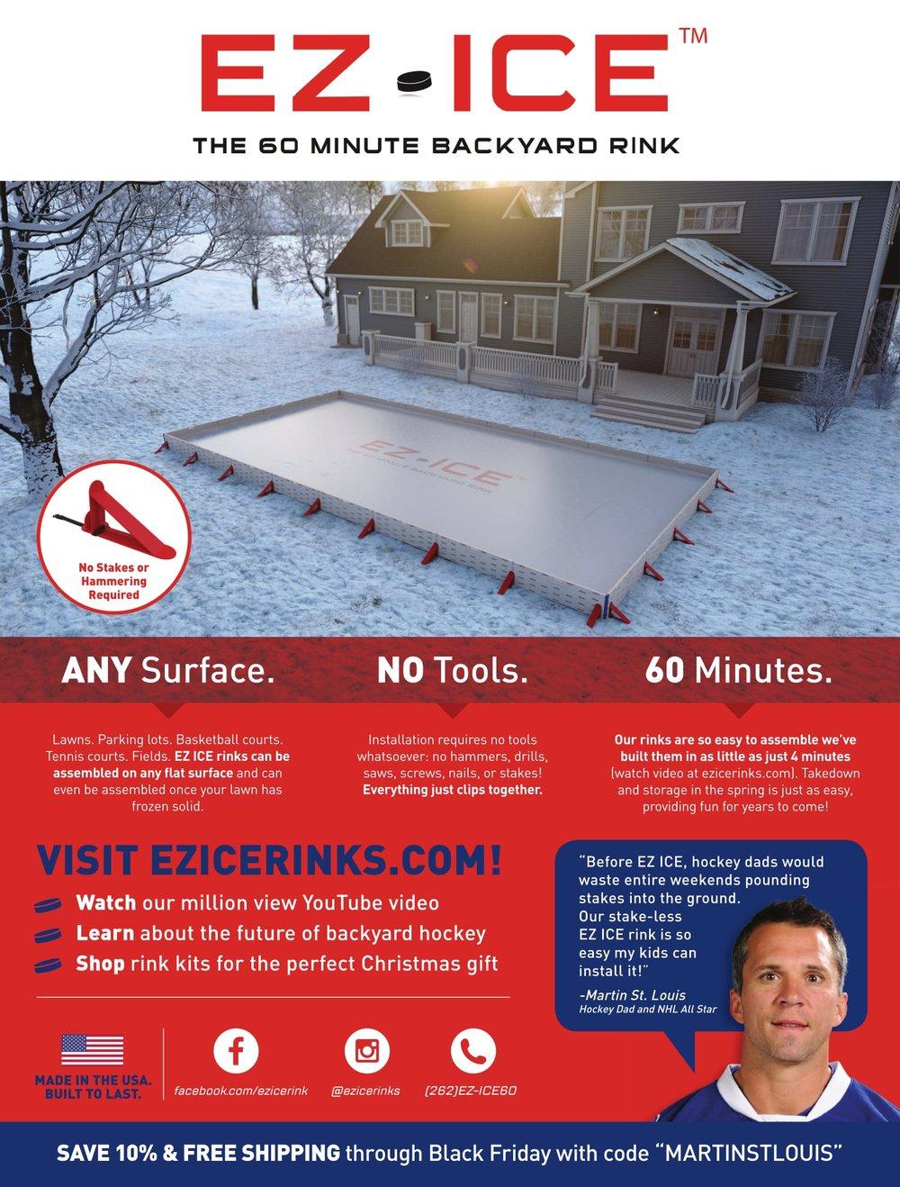 EZ ICE Flyer (Marty St. Louis Code)