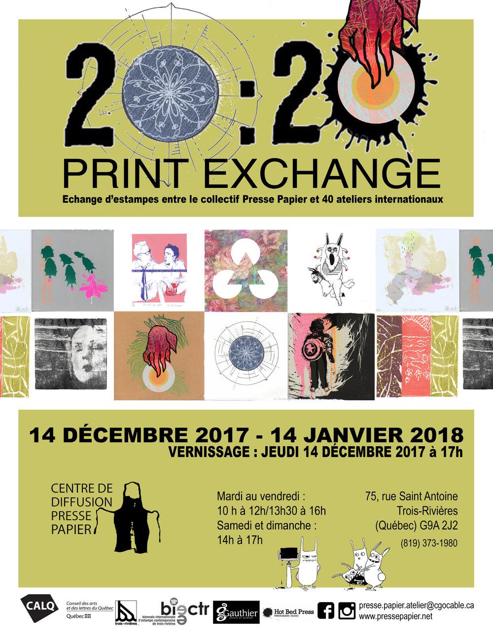 Du 14 décembre au 14 janvier 2018 au Centre de diffusion Presse Papier