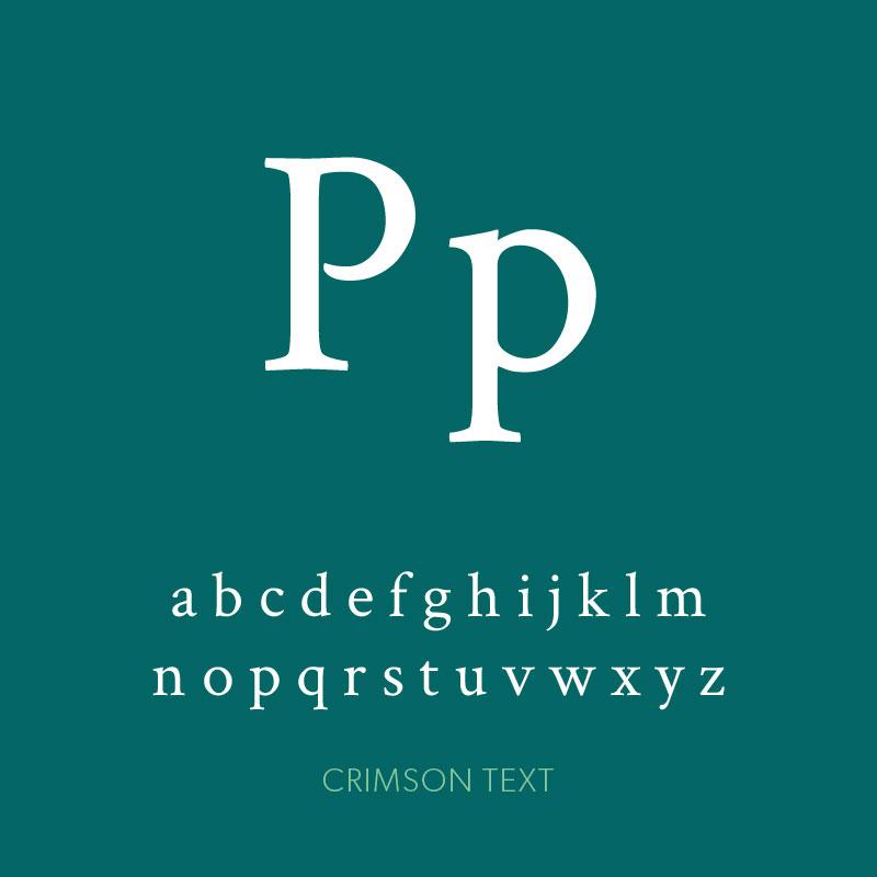 design-font-crimson-text