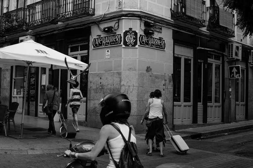 Café Barbieri de día