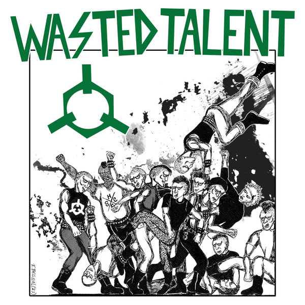 RNLD-36: WASTED TALENT - READY TO RIOT LP