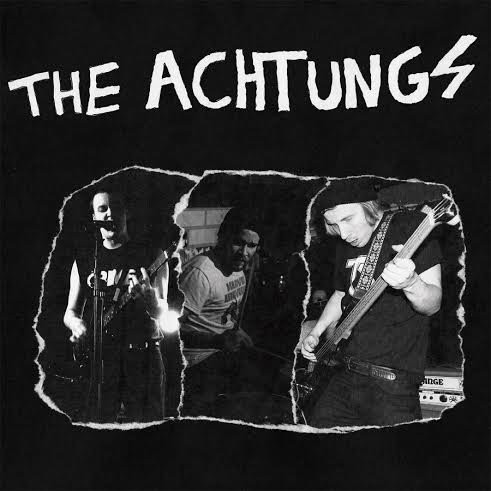 RNLD-31: THE ACHTUNGS - FULL OF HATE LP
