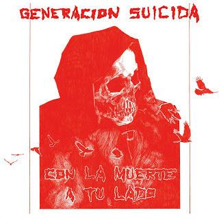 RNLD-26: GENERACION SUICIDA - CON LA MUERTE A TU LADO LP