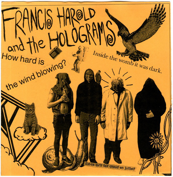 RNLD-13: FRANCIS HAROLD & THE HOLOGRAMS - S/T 7""