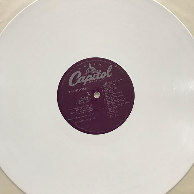Beatles. White Album / White vinyl #goingunderground #bakersfield #goingundergroundrecords